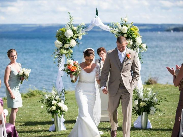 Tmx 1427821129827 Arbor With Flowers At Scc Skaneateles, New York wedding florist