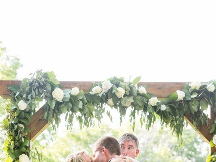 Tmx Arch With Roses And Garland 51 492454 1571527854 Skaneateles, New York wedding florist