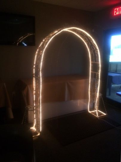 Arch for personal decorations