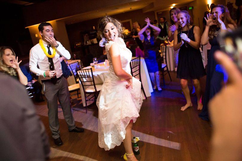 The bride dance