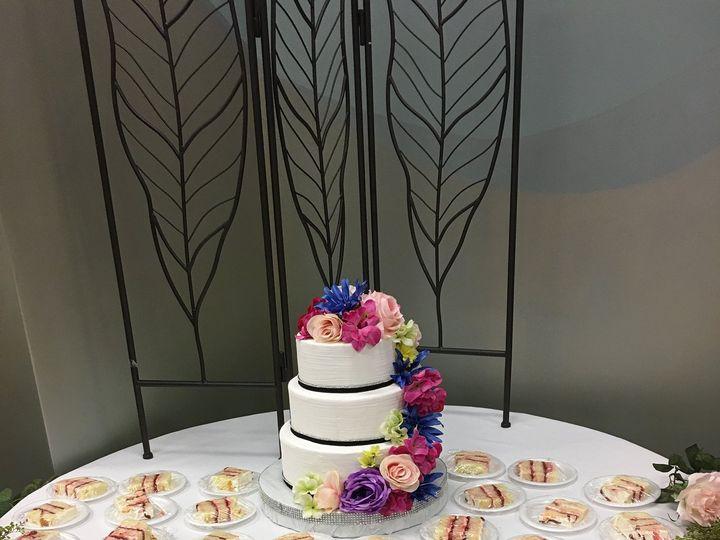 Tmx 1515430642 6057b2d6e63f90ff 1515430635 1ecf0928b34cf4df 1515430442648 3 20170318 154659075 Fayetteville, NC wedding cake