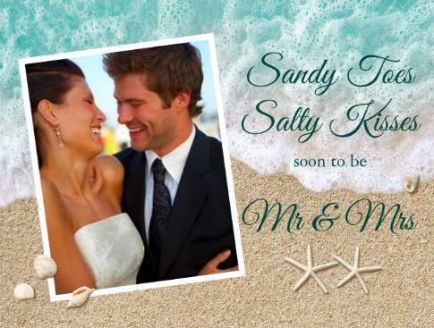 Sandy Toes Salty Kisses Invite