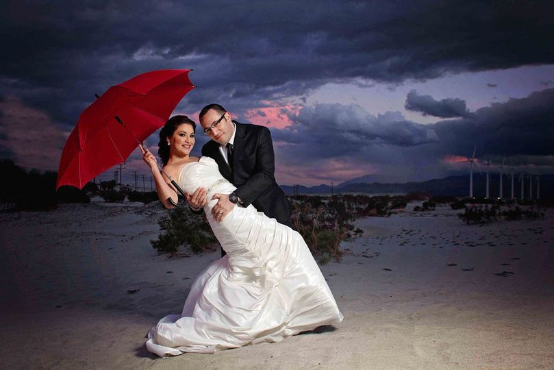 sandy art palm springs wedding engagement session
