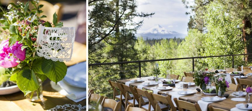 mountain view wedding in central oregon