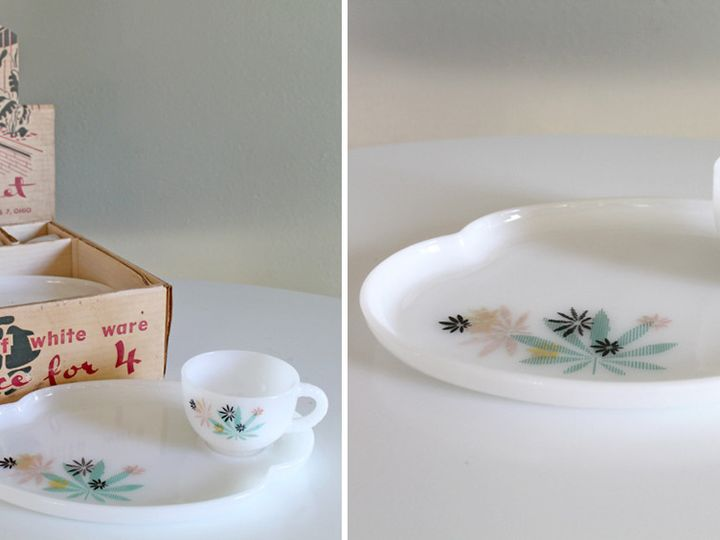 Tmx 1383455000661 White Milk Glass Luncheon Set Bend wedding planner