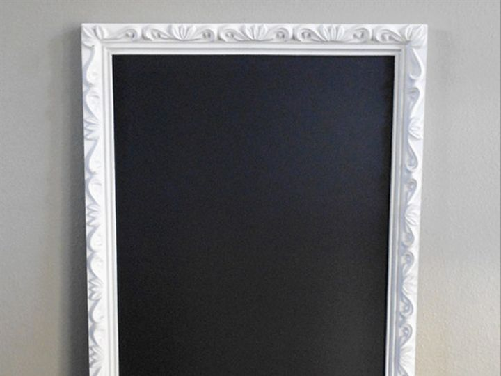 Tmx 1383455065442 Xlarge White Framed Chalkboar Bend wedding planner
