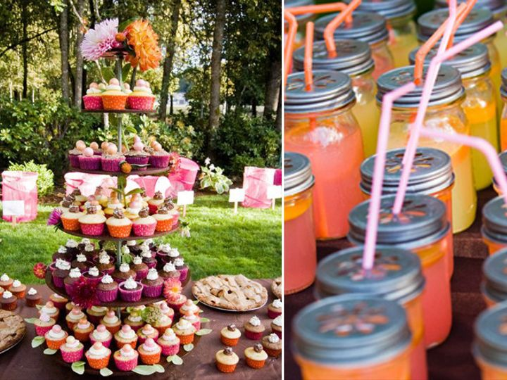 Tmx 1397946560206 Cupcake Stand And Drinking Jars With Lid Bend wedding planner
