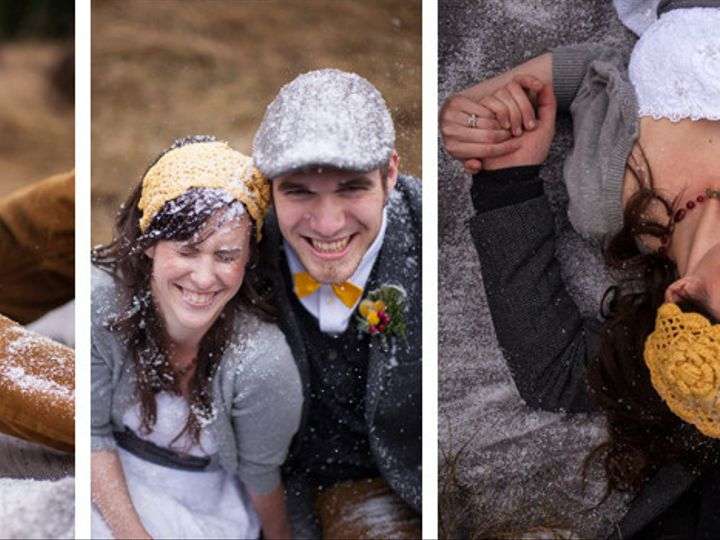 Tmx 1397946757823 Bride And Groom Oregon Snow Weddin Bend wedding planner