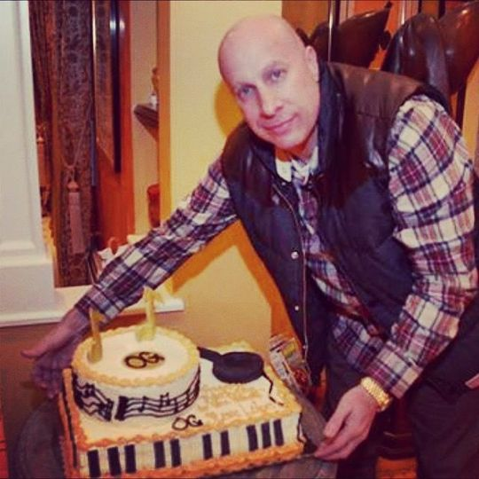 Music inspired cake for a music mogul