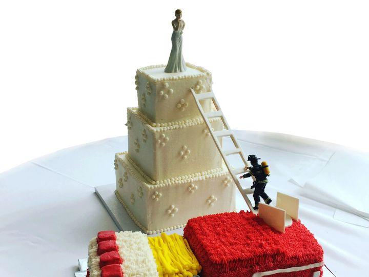 Tmx 1528463011 C6c5d14d21cdb0bc 1528463010 B9df8c30512bd537 1528463008980 1 Firetruck Hicksville, NY wedding cake