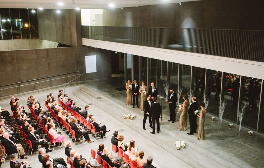 Ceremony in performance space