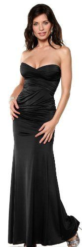 Strapless Gown Formal Evening Party