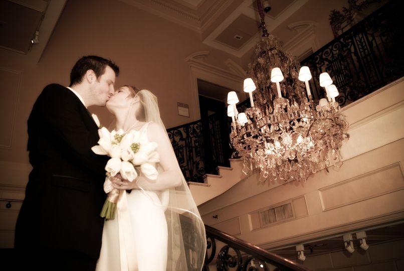 grand staircase kiss