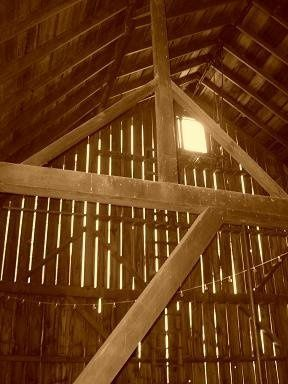 Post and Beam Interior