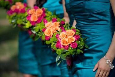 Tmx 1478480059174 Pink Gerbera And Rose Bridesmaid Bouquets Riverside, CA wedding planner