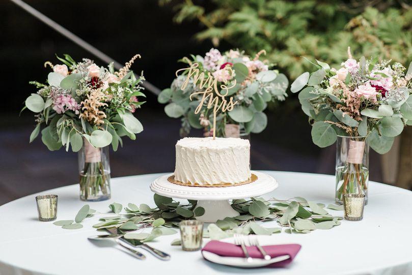 Cake/Floral Display