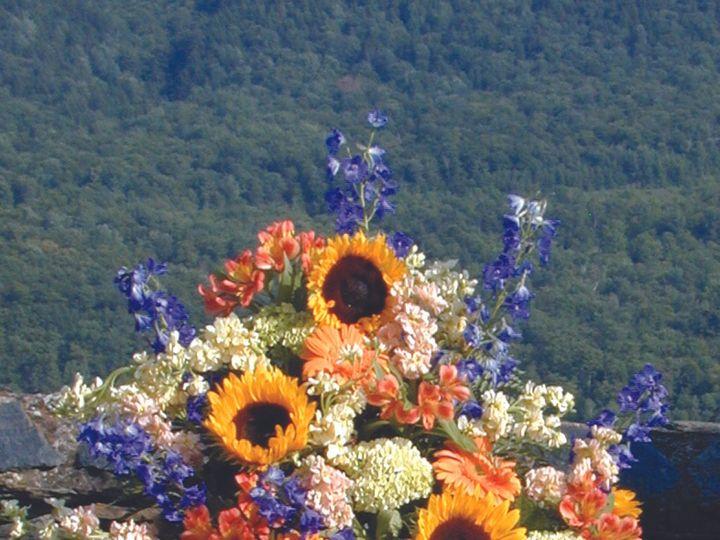 Tmx 1426797123838 Sunflower Pedestal Manchester, Vermont wedding venue