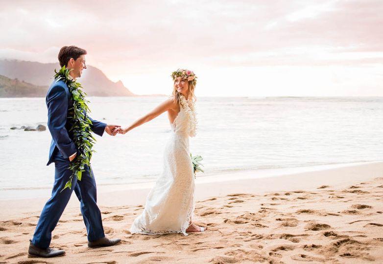 Kauai Elopements couple
