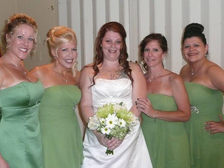 Tmx 1389900745255 Jessicarednerandbridesmaid Wurtsboro wedding dress