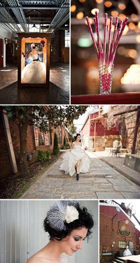 Wedding 101 Rock N Roll Wedding Photo Shoot Hair by A.S.H.