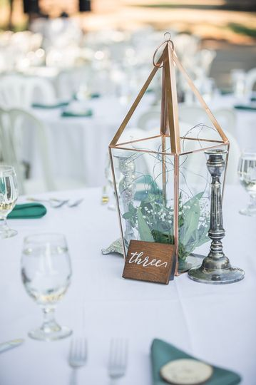 Reception Table Detail