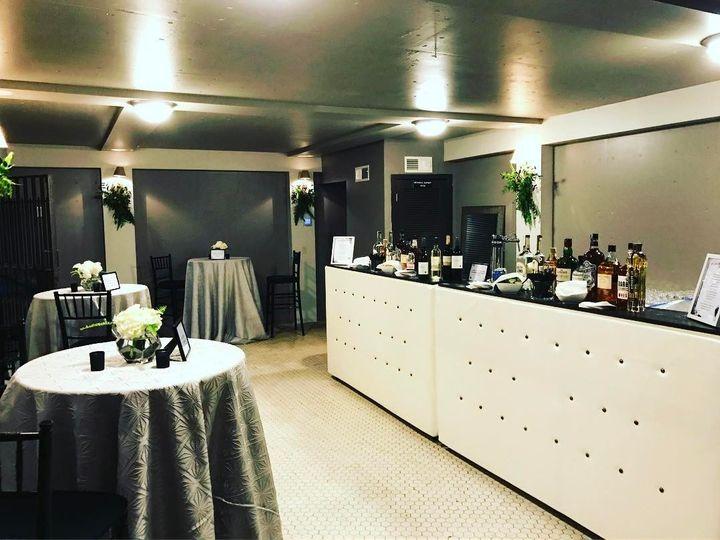 Bar Setup in Twin Vault
