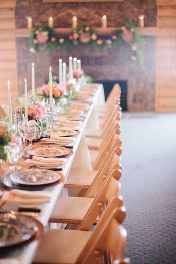 Banquet Hall reception