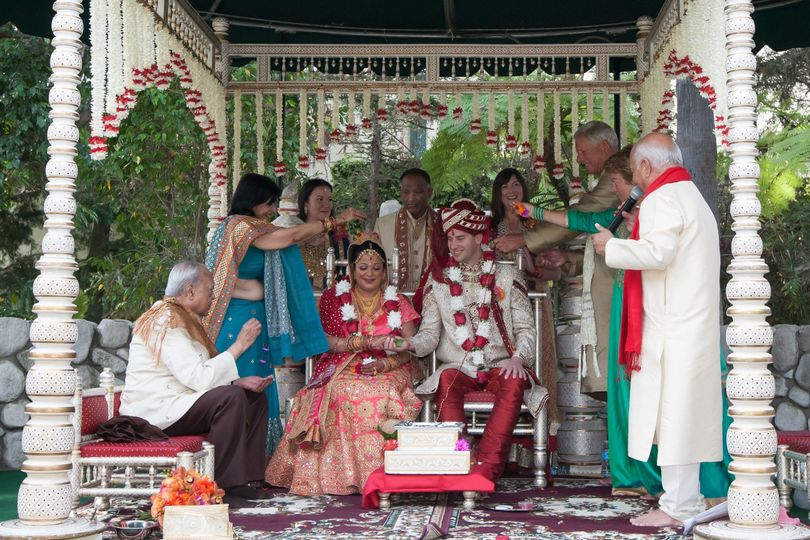 Traditional Indian Wedding at Pickwick Gardens