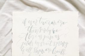 Cami Monet Watercolor and Calligraphy