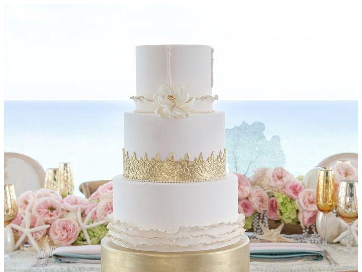 Tmx 1496937301502 Miami Custom Wedding Cakes0305 Hialeah, Florida wedding cake