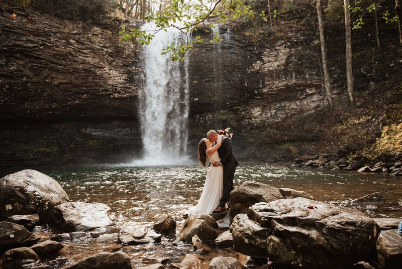Cloudland Canyon Wedding