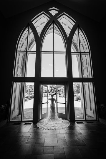 Bridal Window Portrait