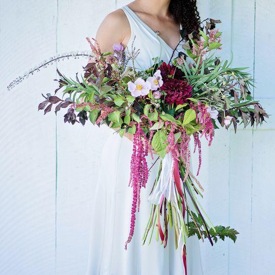 Large signature bridal bouquet