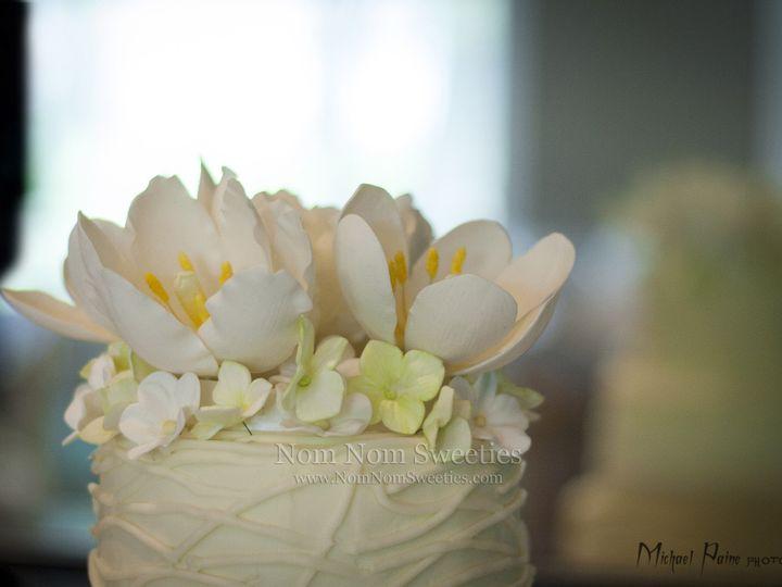 Tmx 1424291141741 Flower Watermark Owosso wedding cake
