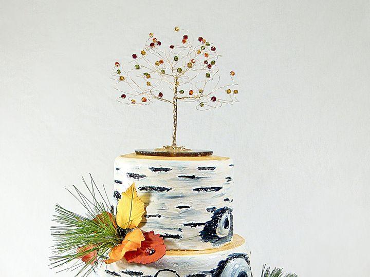 Tmx 1424291365737 Birch Cake Owosso wedding cake