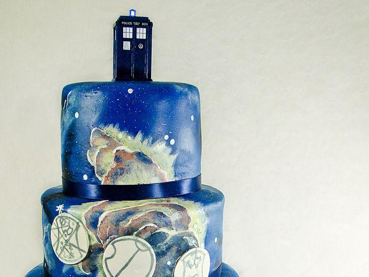 Tmx 1424291567395 Universewho Cake Owosso wedding cake
