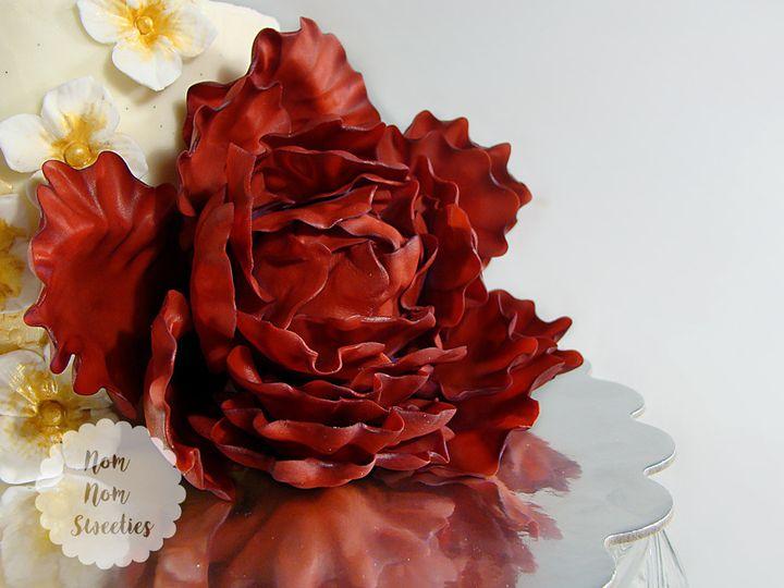 Tmx 1483378497125 Marsalapeony Owosso wedding cake