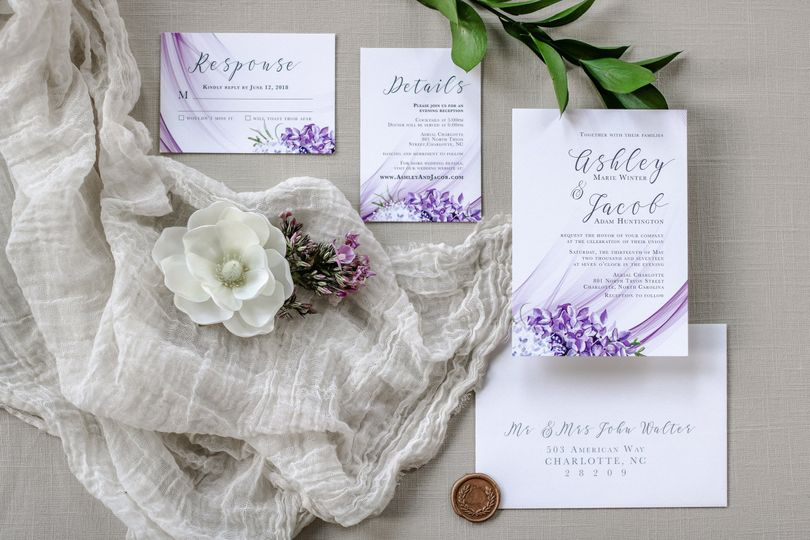 Lilac wedding dreams