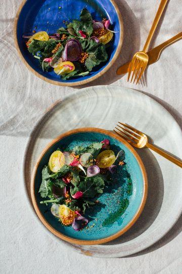 Plated salads & dreamy plates!