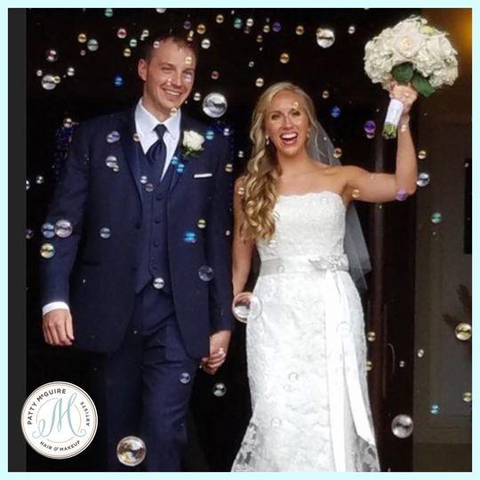 Celebrate the newlyweds
