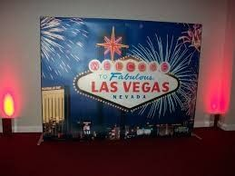 welcome to vegas sign photo background 2
