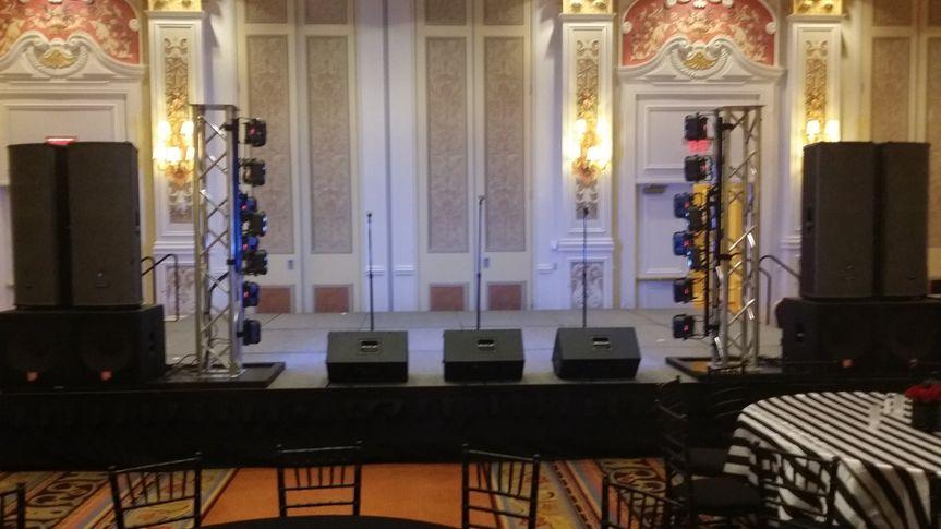 Band Sound & Lighting Venetian