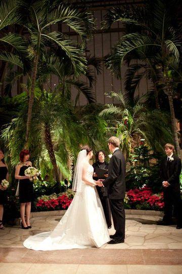 Wedding at the Jewel Box