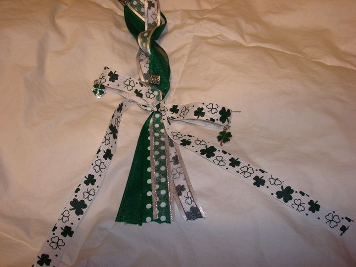 Handfasting cord for an Irish couple