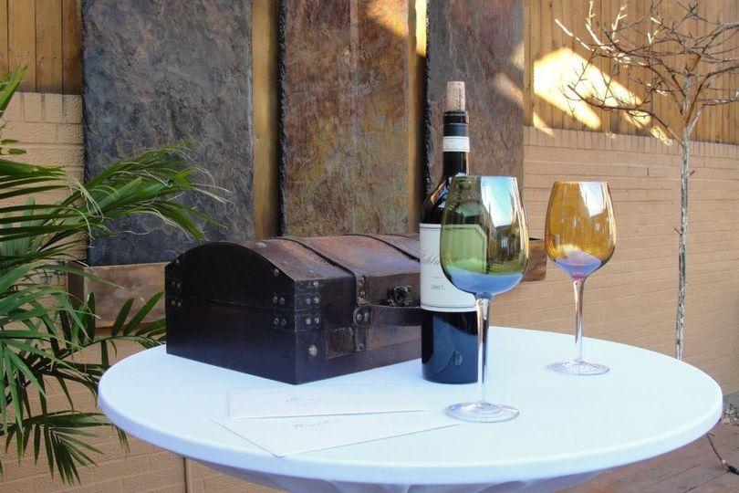 Wine Memory Box Unity Ritual
