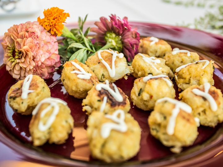 Tmx 1499263359485 Mini Crab Cakes Willow Grove wedding catering