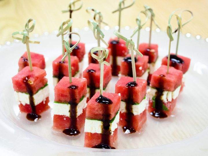 Tmx 1499263384126 Watermelon Feta Picks Willow Grove wedding catering
