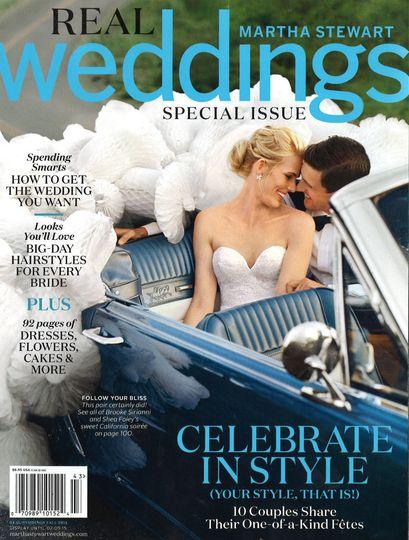 martha stewart weddings fall 2014 cover