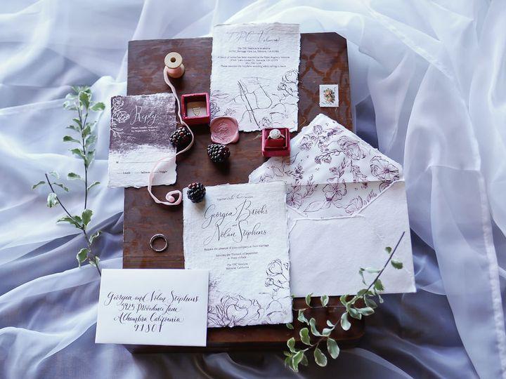 Tmx 1518116902 D502777c898f2801 1518116901 64364c151d5b3e83 1518116901471 4 Valencia 16 Marsha Raleigh, NC wedding invitation