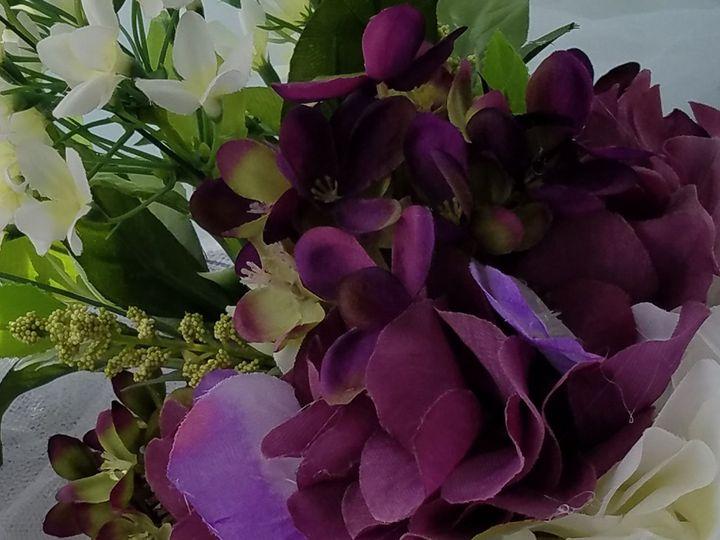 Tmx 1527023117 368e59a359bdea81 1527023114 8147856d57a0d13d 1527023112956 3 Purple Bout Laurel, MD wedding florist